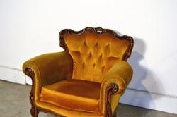 Vintage Mustard Armchair