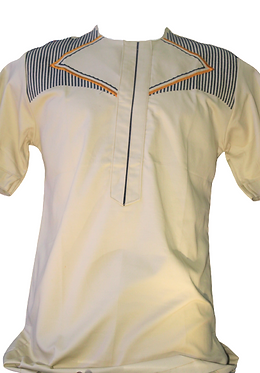 Stylish African Short Sleeve Shirt