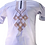 Thumbnail: Men African Short Sleeve Shirt  Style -Gray