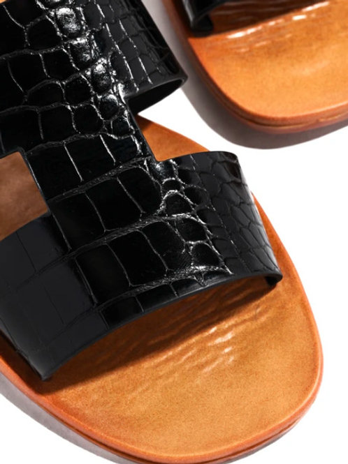 Women Leather Slipper