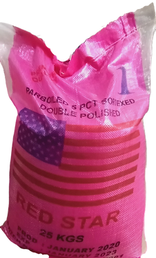 Red Star Parboiled Rice (25kg)