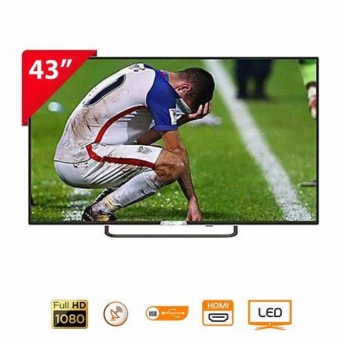 "ROCH  LED TV - 43"" Black"