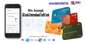 Ezee Market now accepts credit card for payments