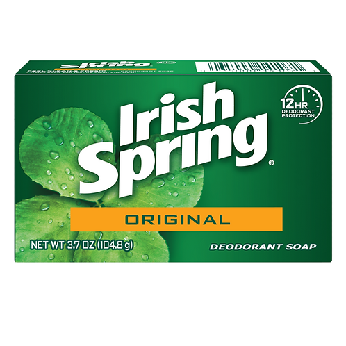 Irish Spring Deodorant Bar Soap Dozen