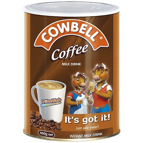 Cowbell Coffee Tin