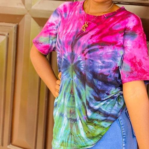 Wig - Wag Tie-dye Girls Shirt
