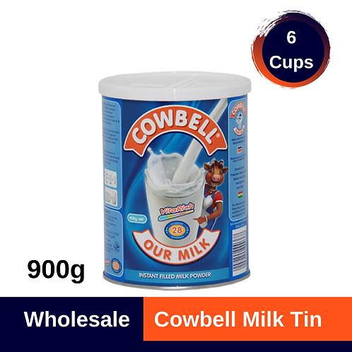 Cowbell Milk Tin 900g x 6 (Cups)