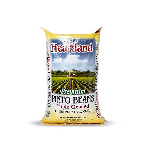 Heartland premium triple clean pinto beans