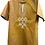 Thumbnail: Brown African Short Sleeve Shirt