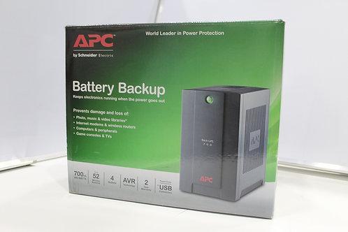 APC UPS  Battery Backup 700va