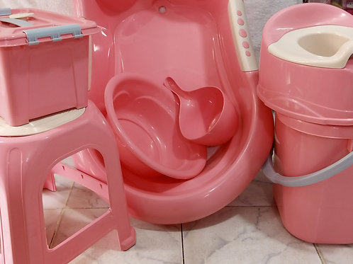 Pink Lovely Baby Tub (M2)