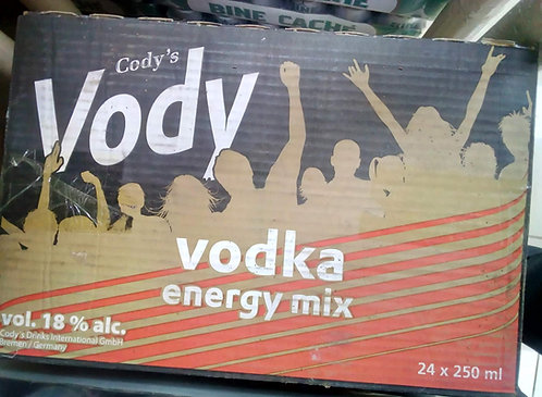 CODY'S VODY Beer Vodka Energy Mix