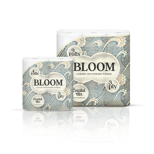 Bloom Bathroom Tissues (9 rolls)