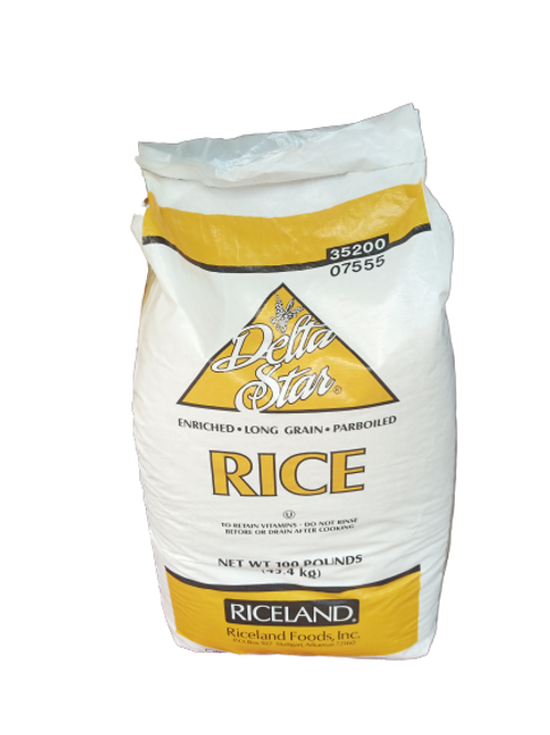 Delta Star Long Grain Parboiled Rice (50pound)