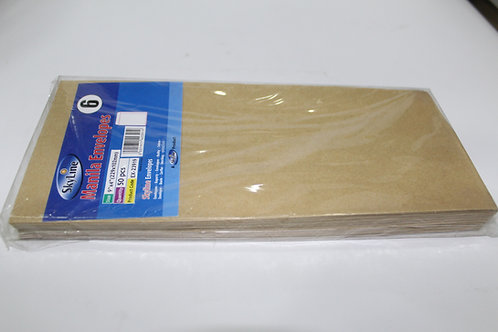 Manila Browne Envelope