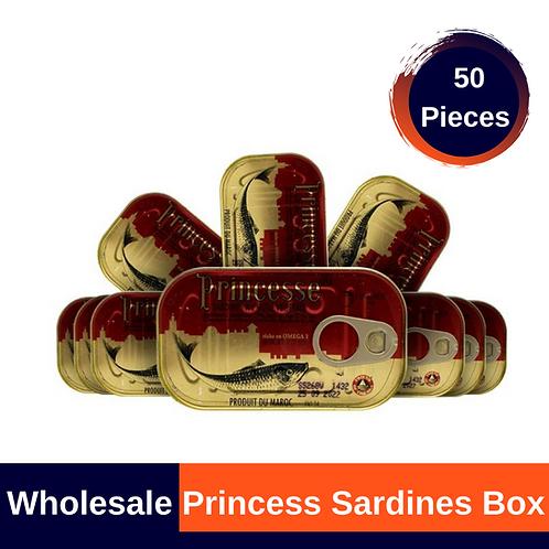 Princess Sardines Box (50 pieces)