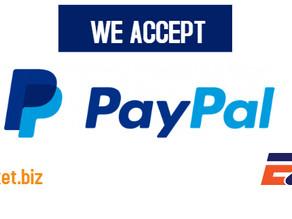 Ezee Market now accepts online payment via PayPal