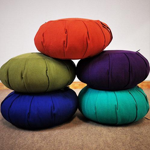 Round Zafu Meditation Cushion - Organic