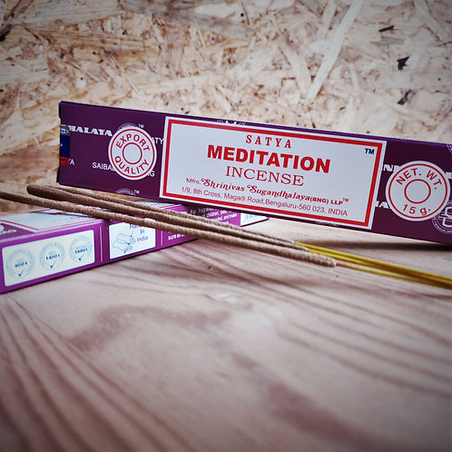 Meditation Incenso 15g - Satya