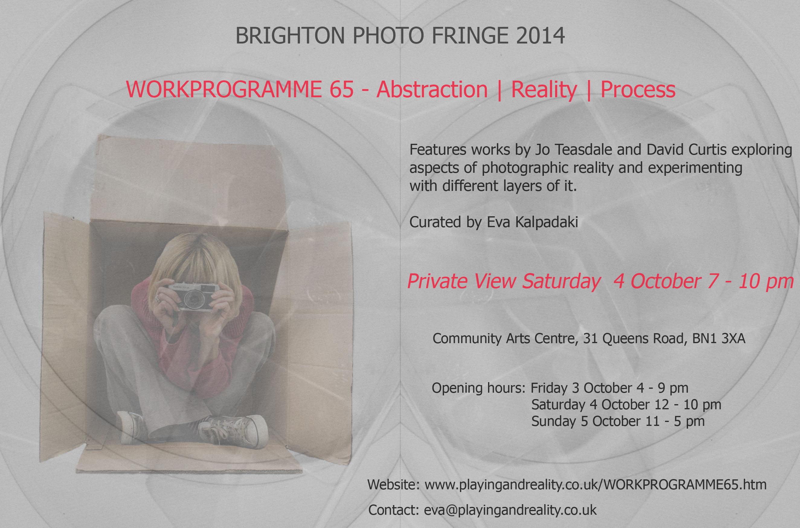 Brighton Photo Fringe 2014