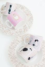 Coco Style Tweed Mug Cup