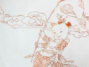 Chinoiserie painting