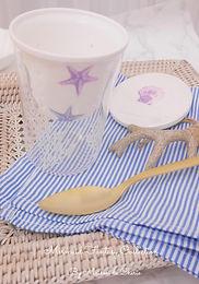 Glass Mug with strainer