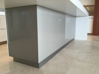 Glass Splashback Counter