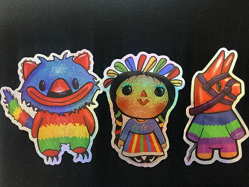 Chucho and friends sticker pack