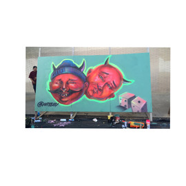 Mural for Visual Shop