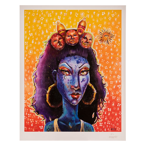 """'Yellow Dreams' - Limited Giclee Signed Print 12/12, 11""""x14"""""""