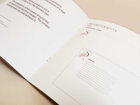 Brand manual inside page