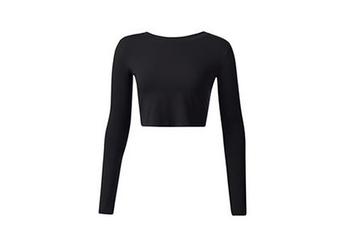 Crop Top Long Sleeved