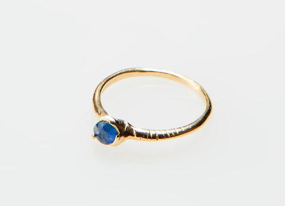 Rough cut safaia Ring