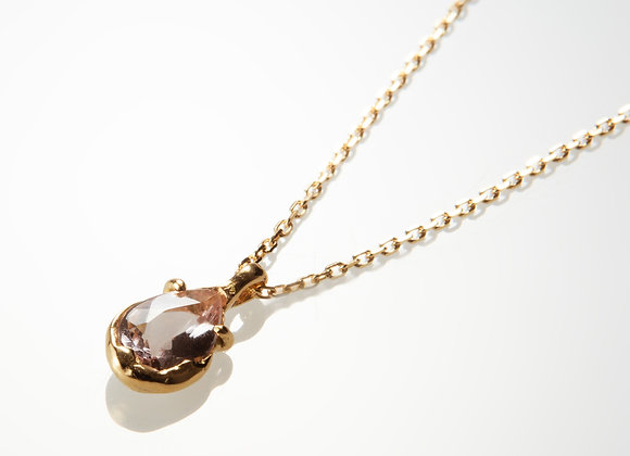 Pink Morganite Necklace