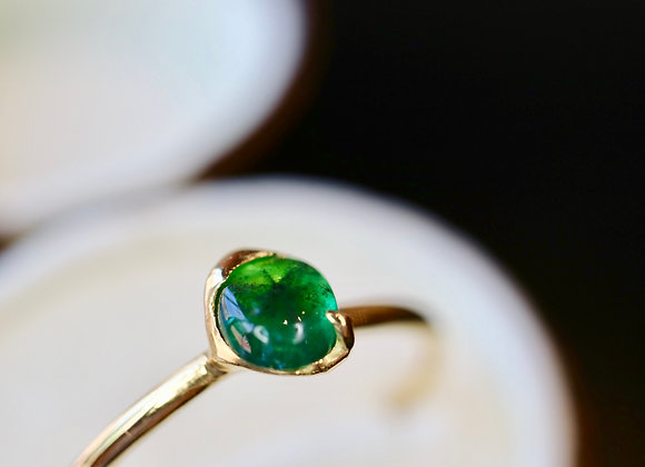 Ring of Trapiche Emerald