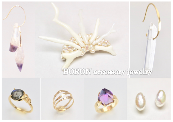 BORON accessory jewelry                                                Pop-up shop 12/22(fri)-24(su