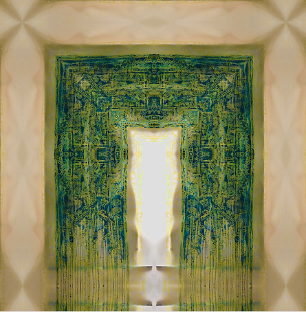 Blue Print 2020 | Maryam Hina Hasnain Archival inkjet paper on watercolor sheet