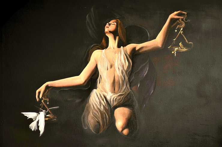 EQUILIBRIA 2020   Araimish Malik Oils on canvas