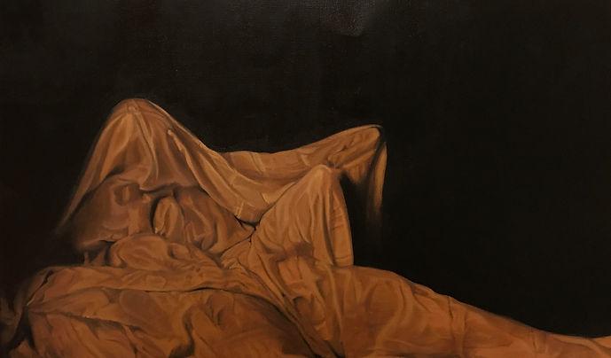 Untitled 2019   AmmamaMalik Oil on canvas