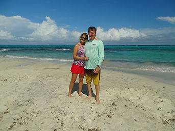 Dan-and-tracey-at-Tobago-Cays-Marine-Par