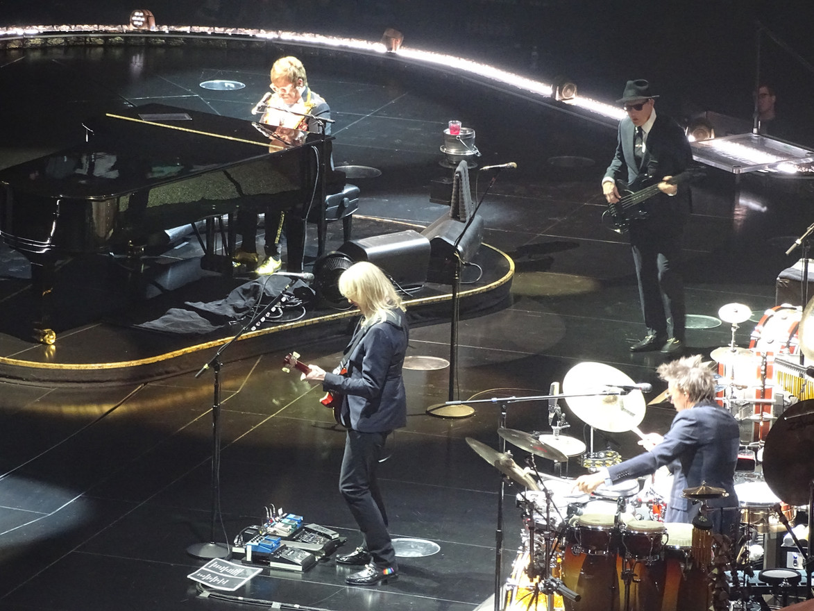 Elton and the Band