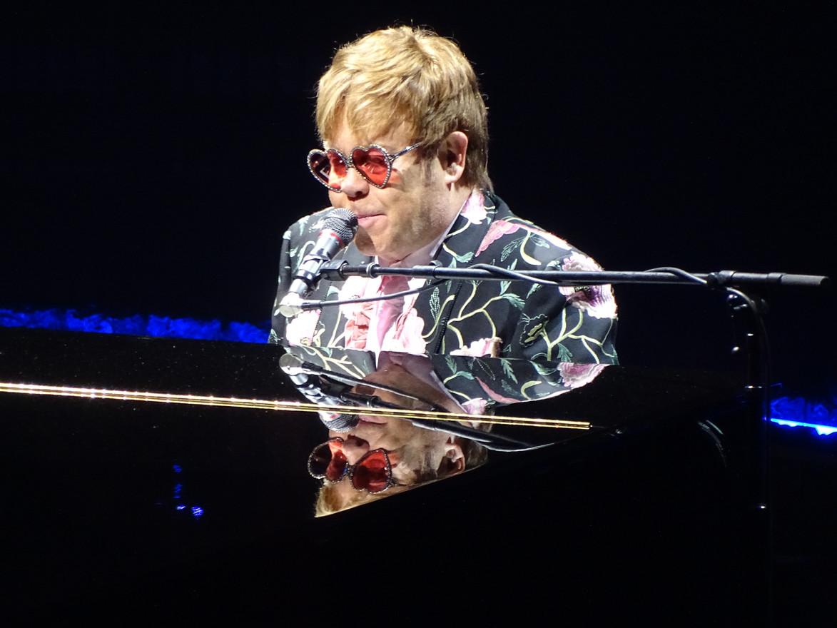 Elton John Concert Photo