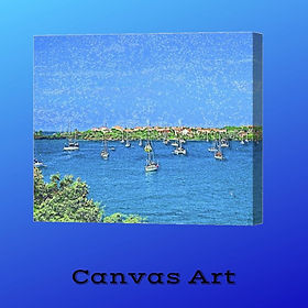 2-Canvas-Art-Island-Hoppers-Art-by-Dan-a