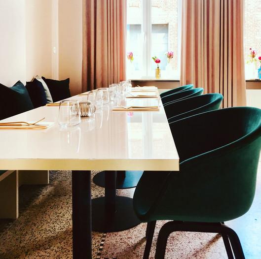 Interieur - restaurant De Overburen - Roeselare