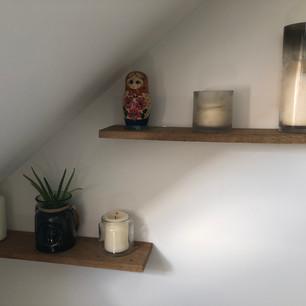 Handmade Floating Shelves