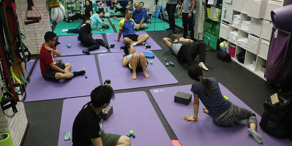 痛症理療運動伸展班
