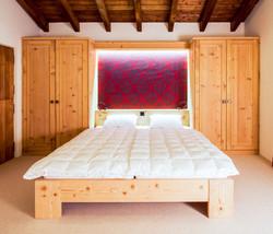 Pitschen Schreinerei - Bett Fichte