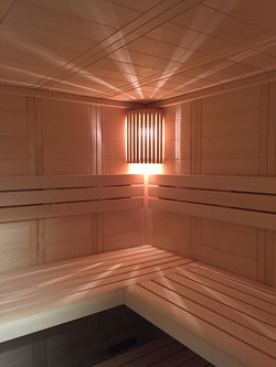 Pitschen Schreinerei - Sauna Massivholz