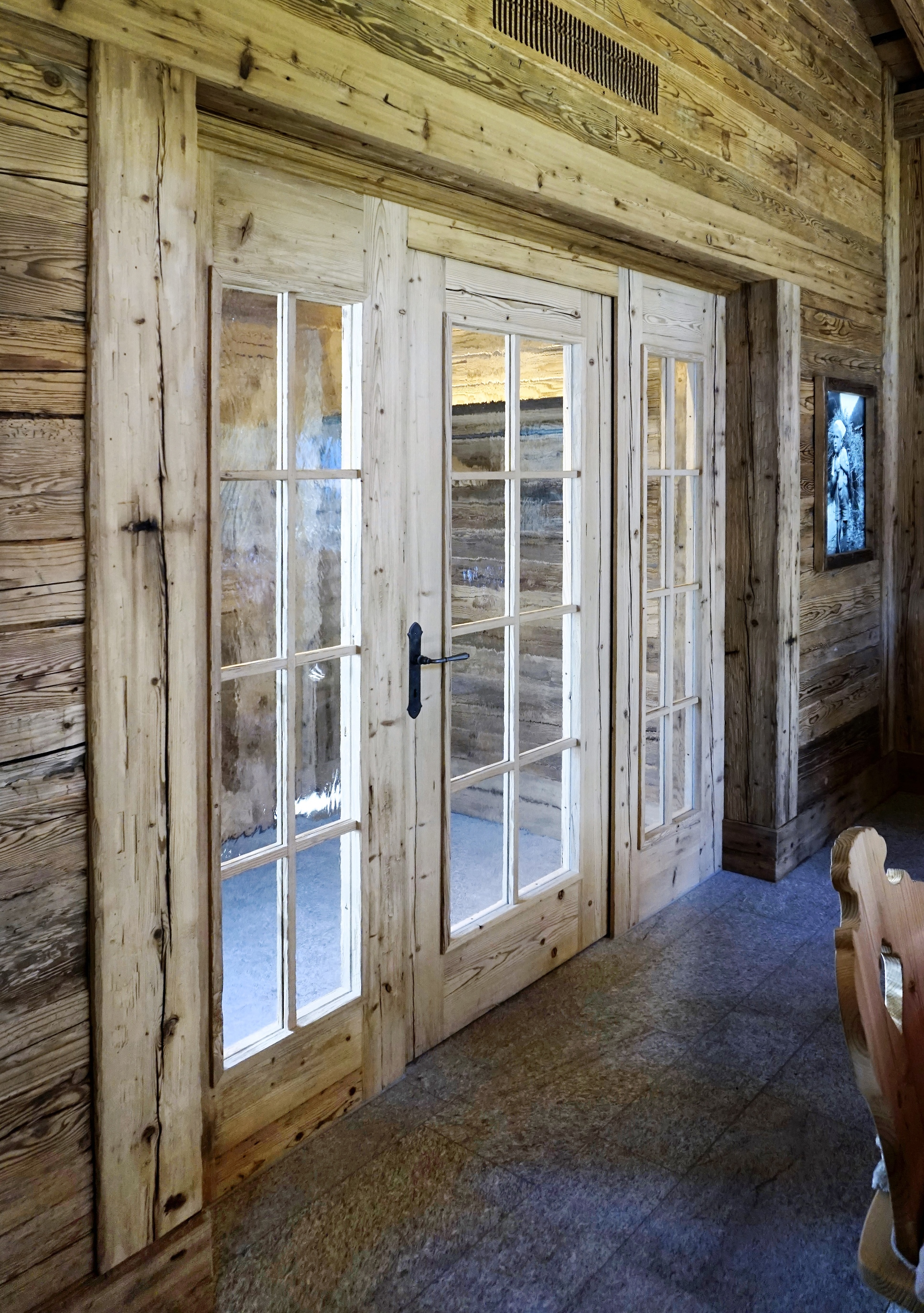 Innenausbau Sichtaltholz